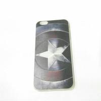 Case iphone 6+ 6+s Captain America Soft jacket