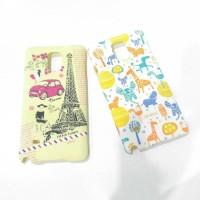 Case Samsung Note 4 full print umku Ori doff finish