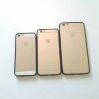 Case iphone 6+s 6+ hybrid soft jacket berkualitas