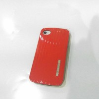 Case iphone 4s 4 iface mall luggage lucu hybrid soft jacket