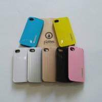 Case iphone 4s 4 iface mall luggage lucu soft jacket hybrid case