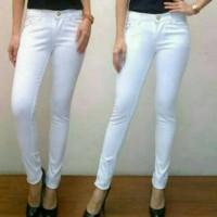 Jual Basic Jeans Putih PRADA Murah
