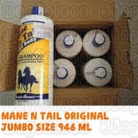 Jual MANE N TAIL SHAMPOO 946 ml (Shampoo Kuda) + BONUS / FREE SAMPLE Murah