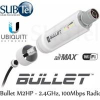 UBIQUITI Bullet M2HP + Adaptor 24v 1a Paket Outdoor Wireless AP BM2HP