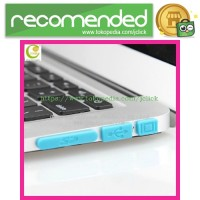 Silicone Notebook Dustplug - Blue