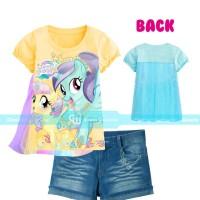 GW 240 H - Setelan Anak Jeans Sayap Yellow Pony