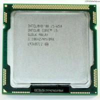 Processor Intel Core i5 650 3.2 GHz Tray with Fan LGA 1156