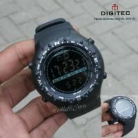 Jual Jam Tangan Digitec Outdoor DG-3032T Original FullBlack (Suunto,DG3032) Murah