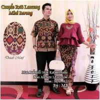 Jual Baju Batik Couple Keluarga Modern Manohara Murah