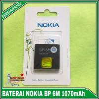 Baterai Nokia BP-6M N73/ N93 /9300 /6233 ORIGINAL 100%