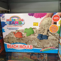 Jual BEST SELLER! MAINAN PASIR KINETIK AJAIB MODELING SAND BEACH MOULD Murah