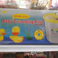 BABY SWIMMING POOL WITH TOYS , KOLAM RENANG SET 0-3 TAHUN