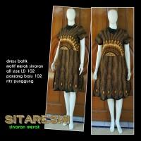 Dres Batik Wanita Modern, Dress Batik Murah, Dress Batik Terbaru 2017