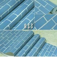 Wallpapper Batu Bata Biru / Wallpaper Batu Bata