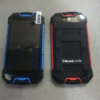 BrandCode B6S Android 512MB 4GB Built In Armor Body Blue n Red