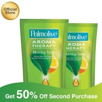 Palmolive Shower Gel Morning Tonic 450ml - 2pcs (As2-114841-885000649)