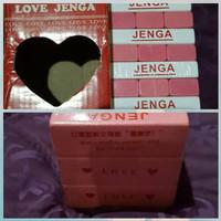 PROMO Love jenga toys TERMURAH