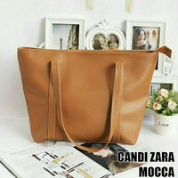 Candy Bag TERMURAH Surabaya - Model Zara Bag Mocca