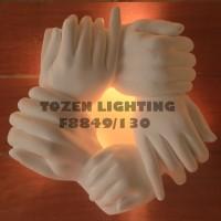 Lampu Dinding Kapur/Gypsum F8849/130