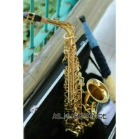 harga Saxophone Alto Gold Merk Cowboy Made In Taiwan Full Set Hardcase Tokopedia.com