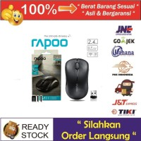 Jual Mouse RAPOO Wireless Optical Mouse M11 Black And White Murah