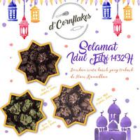 Conflake Chocolate / Cornflakes Coklat / Cemilan / Sereal/ Kue Lebaran