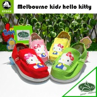 sepatu anak crocs melbouner kids hello kitty