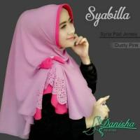 Jual hijab instan/hijab syar'i/khimar/hijab branded/Syabilla Syria Pad Murah