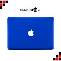 "matte case macbook air 13"" electric blue (no cut out)"