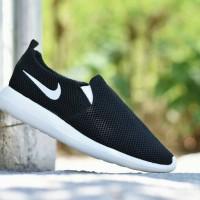 Sepatu Sport Nike Roshe Run Slip On / Casual Running Pria / RR 11