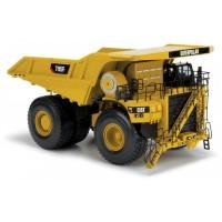 Miniatur diecast alat berat caterpillar 795F AC mining truck