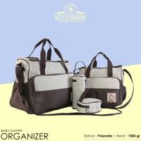 Jual Baby Diaper Travel Organizer Bag 5 In 1 / Tas Perlengkapan Bayi Murah