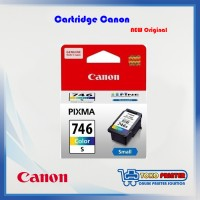 Catridge Canon Warna CL-746 NEW Original Small
