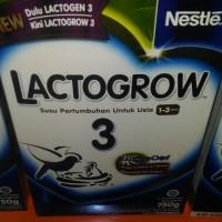 LACTOGROW 3 SUSU PERTUMBUHAN UNTUK USIA 1-3 TAHUN 750g LACTOGEN NEW