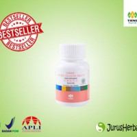 Tablet Serat Ganda Double Cellulose Tiens Obat Ambeien Wasir Sembelit