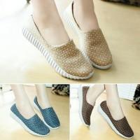 Sepatu Wanita Kets SlipOn Sneakers Casual Wanita DD121