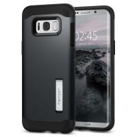 Spigen Galaxy S8 Plus Case Slim Armor Metal Slate