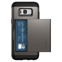 Spigen Galaxy S8 Case Slim Armor Cs - Gunmetal