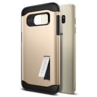 Spigen For Galaxy S7 Edge Case Slim Armor - Gold