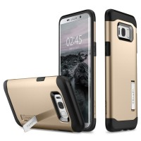 Spigen Galaxy S8 Plus Case Slim Armor - Gold Maple