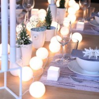 Jual Cotton Ball Light White Tumblr Lamp Lampu Hias Kamar Murah