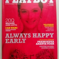 Majalah Playboy Perdana April 2006 : Andhara Early