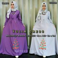 yulia dress / pakaian wanita / fashion wanita / panjang