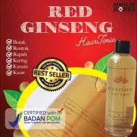 BIO HERBAL RED GINSENG HAIR TONIC / OBAT RAMBUT RONTOK / BPOM / ORI