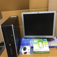 Cuci Gudang Paket Komputer Bekas Branded Hp / Corei5 / LCD 17