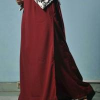 Jual Rok Celana Wolfis Muslimah Polos (L-XL) Murah