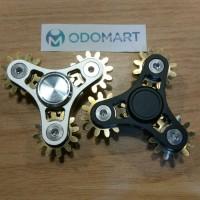 Four Gears Fidget Hand Spinner Rotate EDC Finger Toy