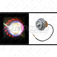 Lampu LED Projector - Projie 2 tingkat U24 Devil Angel Eyes Satria Fu