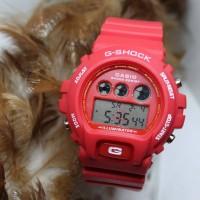 G SHOCK DW 6600 RED