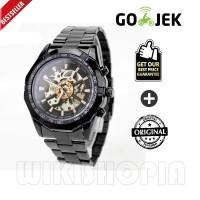 Jam Tangan Forsining Winner Watch Men Skeleton Automatic Mechanical